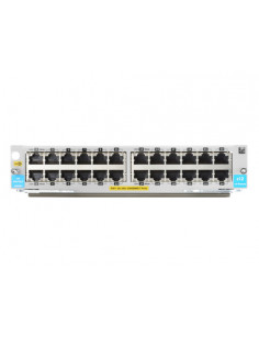 Hewlett Packard Enterprise 24-port 10 100 1000BASE-T PoE+ MACsec v3 zl2 Module network switch module Gigabit Ethernet