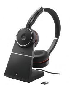Jabra Evolve 75 UC Stereo Headset Head-band Black