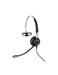 Jabra Biz 2400 II QD Mono NC 3-in-1 Wideband Headset Ear-hook, Head-band, Neck-band Black, Silver