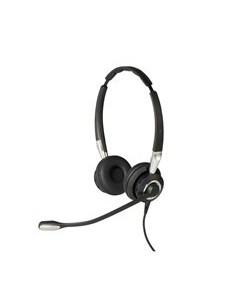 Jabra Biz 2400 II USB Duo CC Headset Head-band Black, Silver