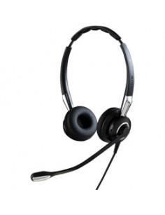 Jabra Biz 2400 II QD Duo NC Headset Head-band Black, Silver