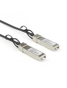 StarTech.com Dell EMC DAC-SFP-10G-1M Compatible 1m 10G SFP+ to SFP+ Direct Attach Cable Twinax - 10GbE SFP+ Copper DAC 10 Gbps