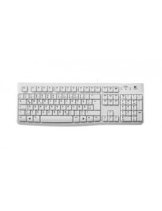 Logitech K120 keyboard USB QWERTZ German White