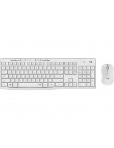Logitech MK295 Silent Wireless Combo keyboard RF Wireless Hungarian White