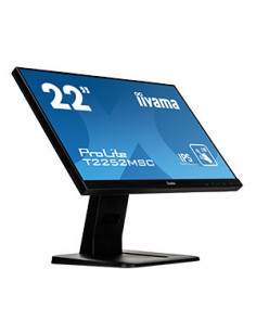 "iiyama ProLite T2252MSC-B1 touch screen monitor 54.6 cm (21.5"") 1920 x 1080 pixels Black Multi-touch"