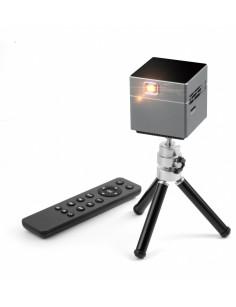 Technaxx TX-126 data projector 100 ANSI lumens DLP WVGA (854x480) Portable projector Black, Grey