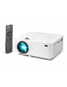 Technaxx TX-113 data projector 1800 ANSI lumens LED 800 x 480 Desktop projector White