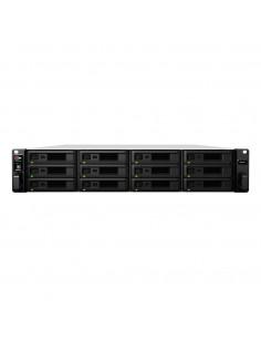 Synology RackStation RS2418+ C3538 Ethernet LAN Rack (2U) Black NAS