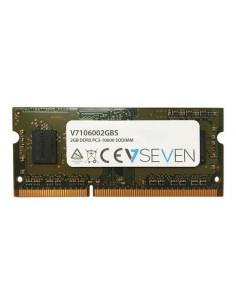 V7 2GB DDR3 PC3-10600 - 1333mhz SO DIMM Notebook Memory Module - V7106002GBS
