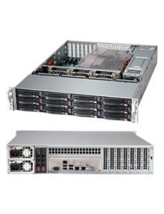 Supermicro CSE-826BA-R920LPB computer case Rack Black 920 W