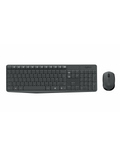 Logitech MK235 keyboard RF Wireless QWERTZ German Grey