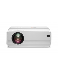 Technaxx TX-127 data projector 2000 ANSI lumens LCD 1080p (1920x1080) Desktop projector Silver, White