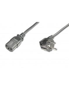 ASSMANN Electronic AK-440100-018-S power cable Black 1.8 m CEE7 7 C13 coupler