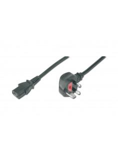 ASSMANN Electronic AK-440107-018-S power cable Black 1.8 m BS 1363 C13 coupler