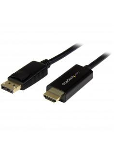 StarTech.com DP2HDMM2MB adaptor pentru cabluri video 2 m HDMI Tip A (Standard) DisplayPort Negru