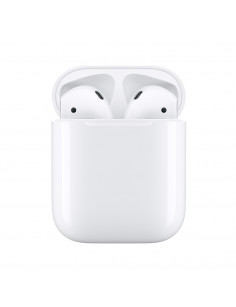 Apple AirPods (2nd generation) MV7N2ZM A headphones headset In-ear White Bluetooth
