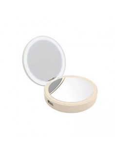 Lotta Power Make-up mirror power bank Gold Lithium Polymer (LiPo) 4000 mAh