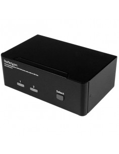 StarTech.com 2-Port DisplayPort Dual-Monitor KVM Switch - 4K 60Hz