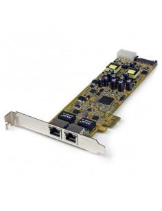 StarTech.com Dual Port PCI Express Gigabit Ethernet PCIe Network Card Adapter - PoE PSE