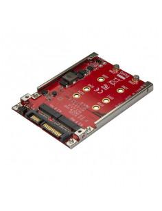 "StarTech.com Dual-Slot M.2 Drive to SATA Adapter for 2.5"" Drive Bay - RAID"