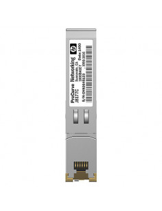 Hewlett Packard Enterprise X120 1G SFP RJ-45 T network transceiver module Copper 1000 Mbit s
