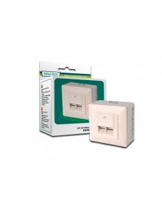 Digitus CAT 5e, Cl. D socket-outlet RJ-45 White