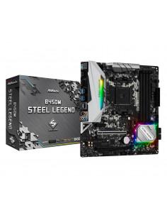 Asrock B450M Steel Legend AMD B450 Socket AM4 micro ATX