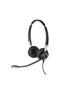 Jabra Biz 2400 II USB Duo CC MS Headset Head-band Black, Silver