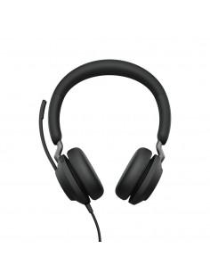 Jabra Evolve2 40, UC Stereo Headset Head-band Black USB Type-C