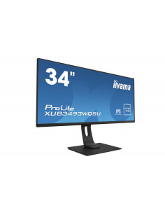 "iiyama ProLite XUB3493WQSU-B1 computer monitor 86.4 cm (34"") 3440 x 1440 pixels UltraWide Quad HD LED Black"