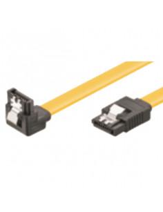 M-Cab 7008005 SATA cable 1 m SATA 7-pin Black, Yellow