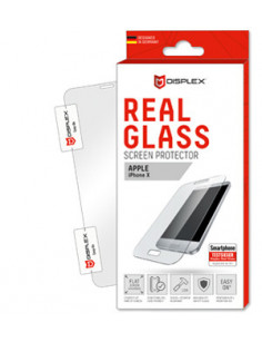 Displex REAL GLASS Clear screen protector Mobile phone Smartphone Apple 1 pc(s)