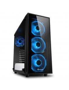 Sharkoon TG4 Midi Tower Black