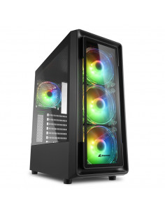 Sharkoon TK4 RGB Midi Tower Black