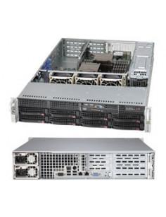 Supermicro SuperChassis 825TQC-R1K03WB Rack Black 1000 W