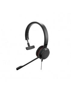 Jabra Evolve 30 II MS Mono Headset Head-band 3.5 mm connector Black