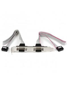 StarTech.com 2 Port 16in DB9 Serial Port Bracket to 10 Pin Header