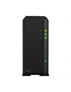 Synology DiskStation DS118 NAS Compact Ethernet LAN Black RTD1296