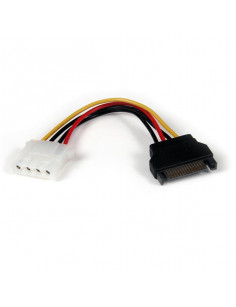 StarTech.com 6in SATA to LP4 Power Cable Adapter - F M