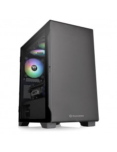 Thermaltake S100 TG Micro Tower Black