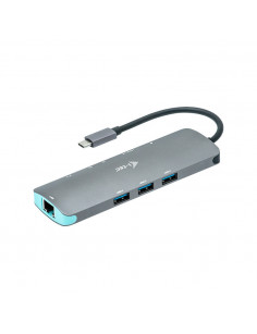 i-tec Metal USB-C Nano Docking Station 4K HDMI LAN + Power Delivery 100 W