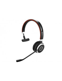 Jabra Evolve 65 UC Mono Headset Head-band Bluetooth Black