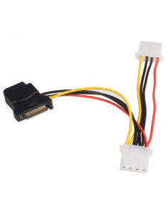 StarTech.com SATA to LP4 Power Cable Adapter with 2 Additional LP4
