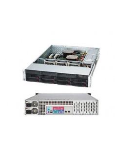 Supermicro 825TQC-R802LPB Rack Black 800 W