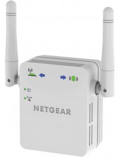 Netgear N300 WiFi Range Extender Network transmitter & receiver White 10, 100, 300 Mbit s