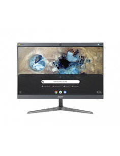 "Acer Chromebase 24 24V2 60.5 cm (23.8"") 1920 x 1080 pixels Touchscreen 8th gen Intel® Core™ i7 4 GB DDR4-SDRAM 128 GB SSD"