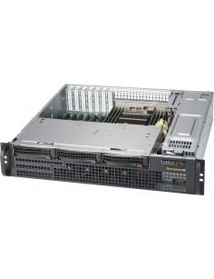 Supermicro CSE-825MBTQC-R802LPB computer case Rack Black 800 W