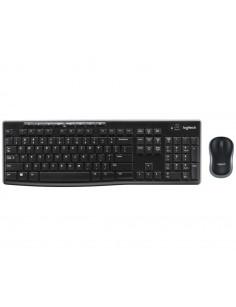 Logitech MK270 keyboard RF Wireless AZERTY Belgian Black