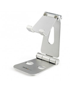 StarTech.com Phone and Tablet Stand - Foldable Universal Mobile Device for Smartphones & Tablets - Adjustable Multi-Angle