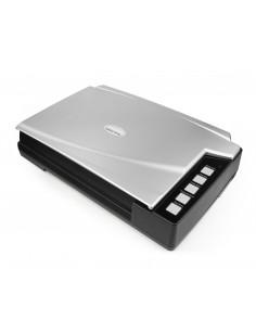 Plustek OpticBook A300 Plus Flatbed scanner 600 x 600 DPI Black, Silver
